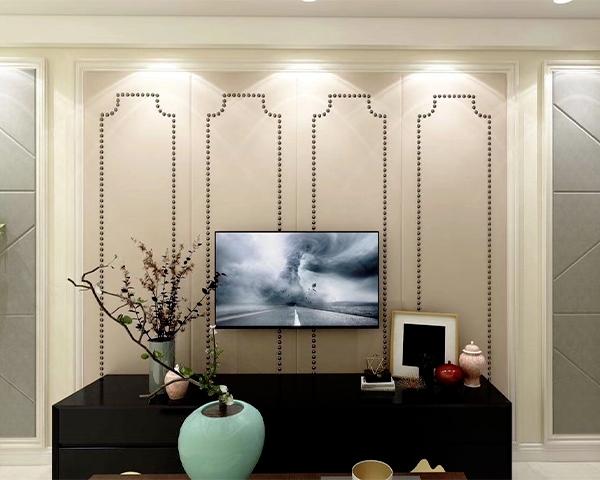软包电视背景墙